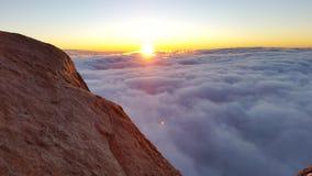 Monte Sinai, alba Fotografia Stock Libera da Diritti