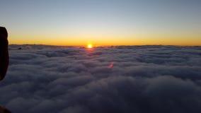 Monte Sinai, alba Fotografia Stock