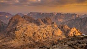 Monte Sinai Egypt fotos de stock