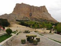 Monte Soffeh, una montaña y el lugar recreativo popular que se sitúa apenas al sur de la ciudad de Isfahán, Irán fotos de archivo