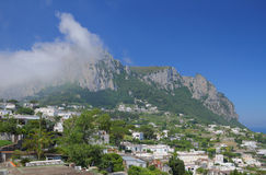 Monte Solaro capri Italy Obrazy Royalty Free
