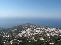 Monte Solaro Chairlift in Capri, Italy stock video