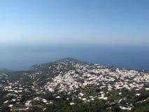 Monte Solaro Chairlift em Capri, Itália video estoque