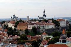 Monte Tallinn de Toompea Fotografia de Stock Royalty Free