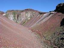 Monte Tarawera Fotografía de archivo libre de regalías