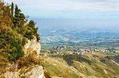 Monte Titano Royalty Free Stock Images