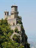 Monte Titano w San Marino Obraz Royalty Free