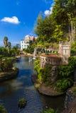 Monte Tropical Garden en Paleis - Madera Portugal stock fotografie