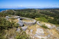 Monte tun Facho, Galizien, Spanien Stockbild