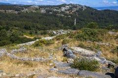 Monte tun Facho, Galizien, Spanien Lizenzfreie Stockbilder