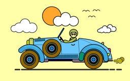 Monte um carro Fotografia de Stock