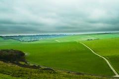 Monte verde Fotografia de Stock Royalty Free