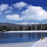 Monte Verde Lake, Angel Fire, New Mexico Stock Photography