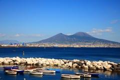 Monte Vesuvio Fotos de archivo libres de regalías