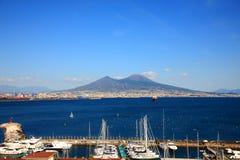 Monte Vesuvio Photo libre de droits