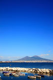 Monte Vesuvio Royalty Free Stock Photography