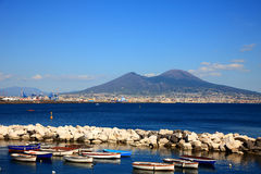 Monte Vesuvio Royalty Free Stock Photos