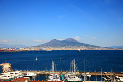 Monte Vesuvio Royalty Free Stock Photo
