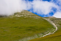 Monte Vettore, Italian Apennines landscapes. Royalty Free Stock Images