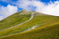 Monte Vettore, Italian Apennines landscapes. Royalty Free Stock Photography