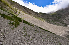 Monte Vettore, Italian Apennines landscapes. Royalty Free Stock Photo
