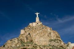 Monteagudo castle Stock Image