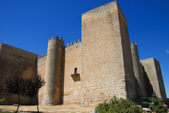 Montealegre castle. XIII century. Valldolid. Spain Royalty Free Stock Photography