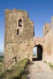Montearagon castle Stock Photos