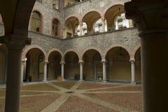 Montebello castle, Bellinzona city, Switzerland stock photos