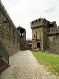 Montebello castle Royalty Free Stock Photos