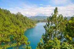 Montebello nationalpark, Chiapas stat, Mexico, Maj 25 royaltyfri foto