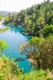 Montebello nationalpark, Chiapas stat, Mexico, Maj 25 royaltyfria bilder