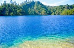 Montebello nationalpark, Chiapas stat, Mexico, Maj 25 royaltyfria foton