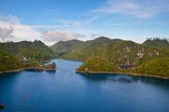 Montebello park narodowy, Chiapas stan, Meksyk, Maj 25 obraz royalty free
