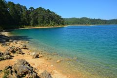 Montebellomeren in Chiapas Mexico royalty-vrije stock fotografie
