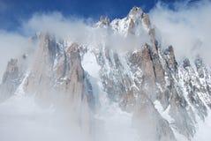 Montebianco mont blanc Royalty-vrije Stock Afbeeldingen