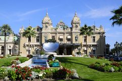 Montecarlo Casino Royalty Free Stock Photography