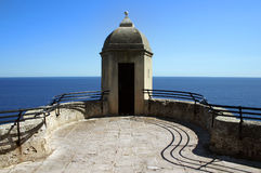 Montecarlo fortress Royalty Free Stock Photography