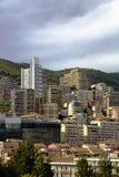 Montecarlo marina harbor panorama Royalty Free Stock Photos