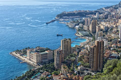 Montecarlo monaco panorama Royalty Free Stock Photo