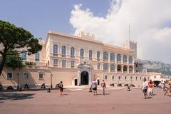 Montecarlo Prince's Palace - Monaco Stock Photography