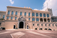 Montecarlo Prince's Palace - Monaco royalty free stock photos