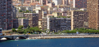 Montecarlo view Royalty Free Stock Photography