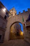 Montecassiano στην Ιταλία Στοκ φωτογραφίες με δικαίωμα ελεύθερης χρήσης
