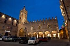 Montecassiano em Italy foto de stock royalty free