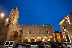 Montecassiano in Italy stock photo