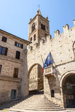 Montecassiano (Macerata) - Historic Palace Royalty Free Stock Photo