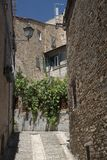 Montecassiano Macerata, Marches, Italy, historic town. Montecassiano Macerata, Marches, Italy, old buildings in the historic town Royalty Free Stock Photography