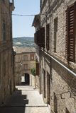 Montecassiano Macerata, Marches, Italy, historic town Stock Photo
