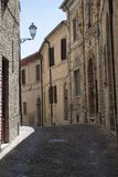 Montecassiano Macerata, Marches, Italy, historic town Royalty Free Stock Photography